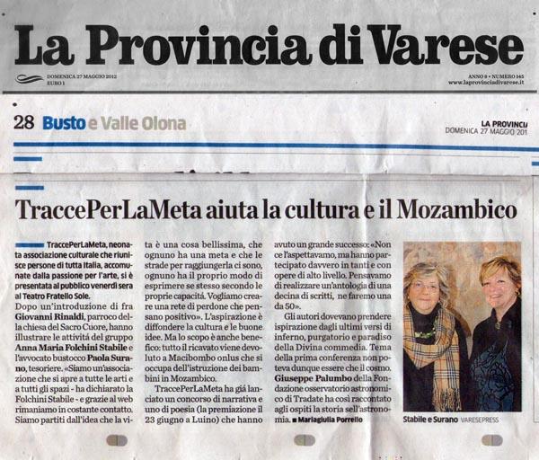 TraccePerLaMeta aiuta la cultura e il Mozambico