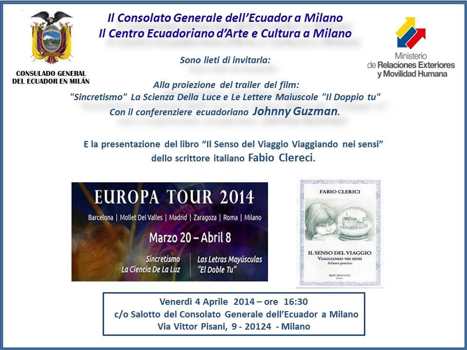 4 Aprile 2014 Italiano - Il Senso del Viaggio