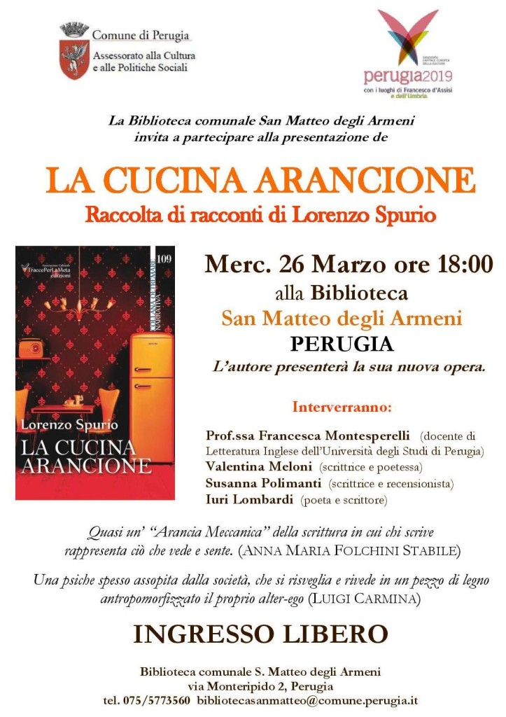 la cucina arancione a Perugia