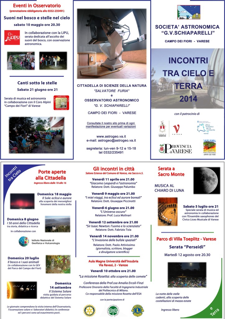 TraCieloeTerra2014