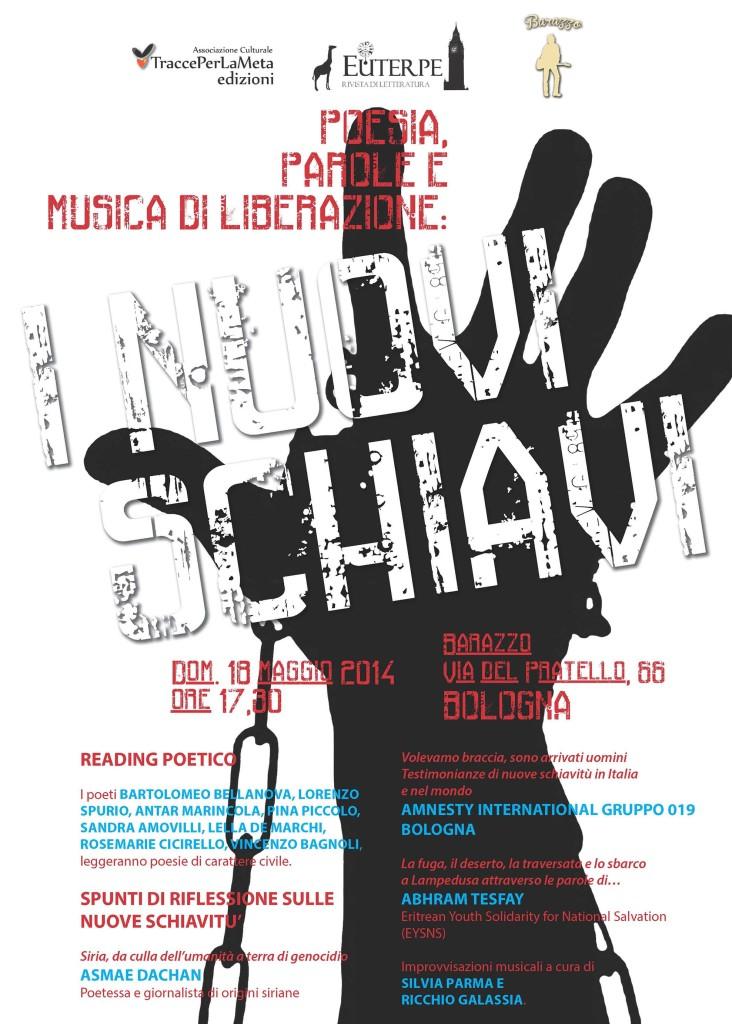 Poesia, Parole e Musica di liberazione: I nuovi schiavi