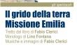 7.5.2014 – Spettacolo Teatrale: Il Grido della Terra – Missione Emilia di Fabio Clerici