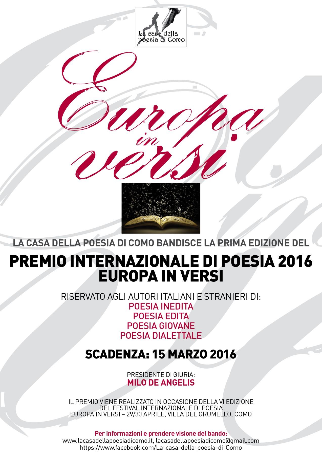 Loc Premio Letterario 2016