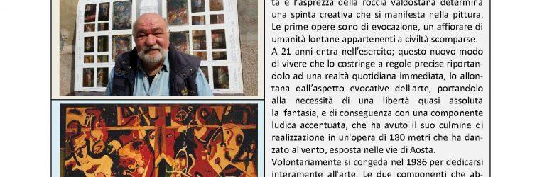 Giugno 2016, n.6, La Voce dell'Appenzeller Museum – Renzo Zanuso, Artista del mese