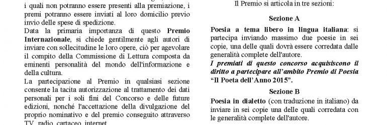 """Scadenza 30.6.2016 – Premio Internazionale di Poesia """"Città di Varallo"""""""