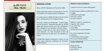 Luglio 2016, n.7, La Voce dell'Appenzeller Museum – Rossana Atzori, Artista del mese