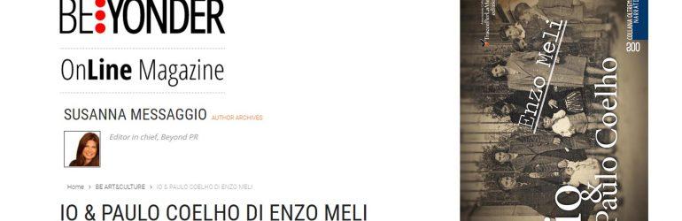 """Recensione di Susanna Messaggio al libro """"io & Paulo Coelho"""" dello scrittore Enzo Meli"""