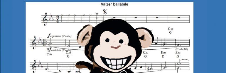 """E' uscito """"Quando la scimmia balla il valzer"""" di Gian Franco Bottini"""